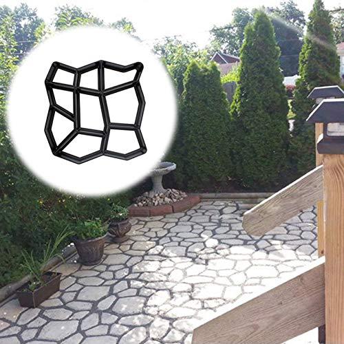 ConpConp Moldes para Cemento, Piedras Blancas Decorativas Jardin, Moldes Hormigon Impreso