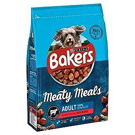 Bakers Meaty Meals Beef Complete Semi Moist Dog Food