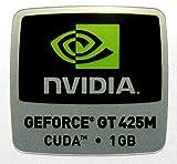 VATH Sticker Compatible with NVIDIA GEFORCE GT 425M CUDA 1GB 18 x 18mm [559]