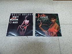 lot de 2 disques 45 tours de Joëlle Ursull : white and black - Amazone - disques CBS 6559517 - 6562907