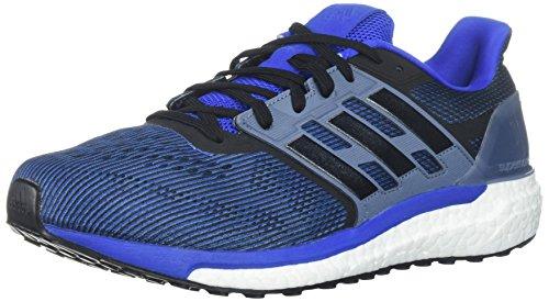adidas Men's Supernova M Running Shoe, Hi-Res Red/Core Black/Raw Steel, 10.5 M US