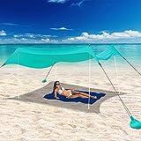 Best Beach Canopies - UBOWAY Beach Tent Sun Shade: Portable Pop Up Review