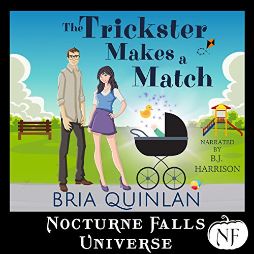 The Trickster Makes a Match: A Nocturne Falls Universe Story audiobook cover art