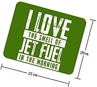 朝のパイロットでジェット燃料の匂いが大好き マウスパッド ゲーミング オフィス 傷防止 防水 耐久性が良い 滑り止 耐久性 操作感が快適