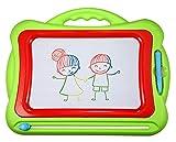 Pizarra mágica magnética grande, pizarra mágica, tamaño de viaje, borrable, juguete educativo para niños, regalo de 3, 4, 5 años de edad