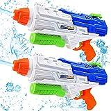 Water Gun, 1250cc (2pcs), Large Capacity, Super Long-Range 11m, Shooter Play, Outdoor Water Game,...
