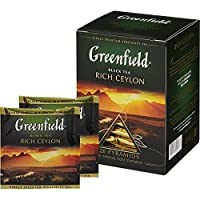 Greenfield tea Pyramid collection (Rich Ceylon)