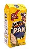 Harina P.A.N - Comida de maíz blanco (1 kg, 4 unidades)