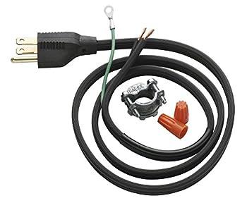 InSinkErator Garbage Disposal Power Cord Kit CRD-00  Black