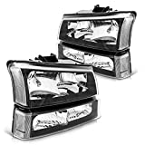 Silverado Headlight from Torchbeam, Replacement Headlight Assembly for 2003-2007...