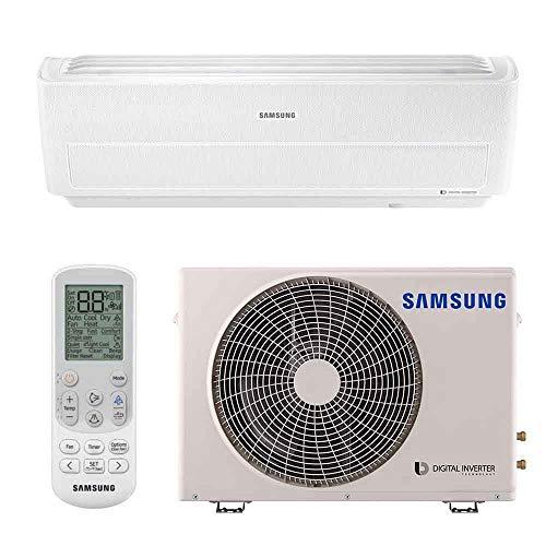 Ar Condicionado Split Wind Free 8-Polos 9000 BTUs Samsung Digital Inverter Q/F 220V AR09NSPXBWKXAZ