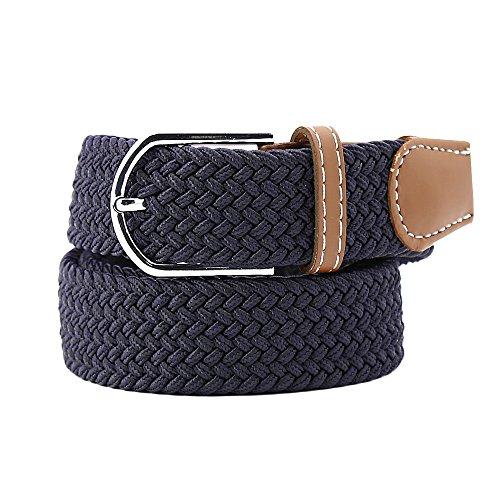 KUSUN Elasticizzato Lavorato a telaio Belt Cinturino elastico Tela per Donne Uomini Unisex
