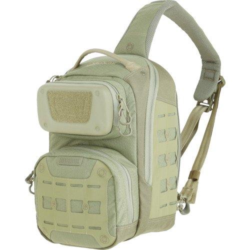 Maxpedition edgepeak Sling Pack Sac à Dos de randonnée, 38 cm, 15 litres, Marron Clair