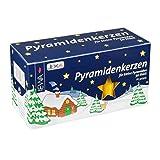 Jeka Kerzen Christmas Pyramid Carousel Candles, Medium 14mm   - Honey