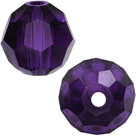 Purple Amethyst Czech Preciosa Crystal 20mm x 12mm Faceted Teardrop Briolette Jewelry Beads 2