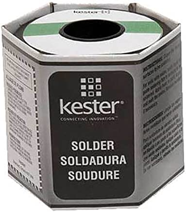 Kester 24-6337-8834 No-Clean Cored Wire Solder Roll, 63/