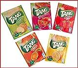 TANG 25 Bolsas, 25 L, naranja, limón, tropical, fresa, piña