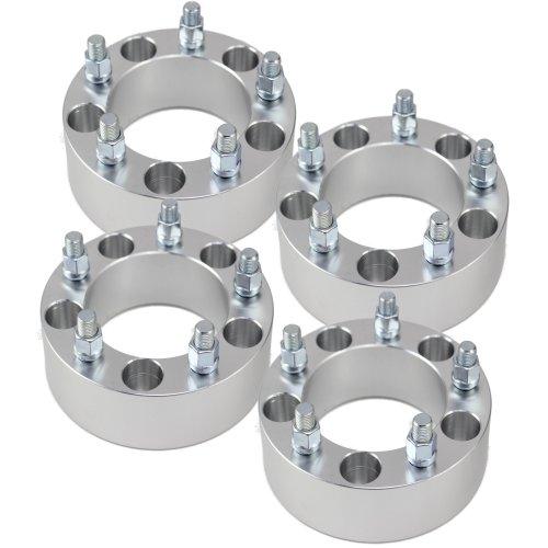 "Set of 4 | 2"" 5x5.5 (5x139.7) Wheel Spacers | Fits Dodge Ram 1500 Dakota Durango | 9/16"" Studs"