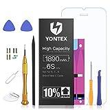 Best Iphone 5 Replacement Batteries - YONTEX 1890mAh Battery Replacement Compatible with iPhone 6S Review