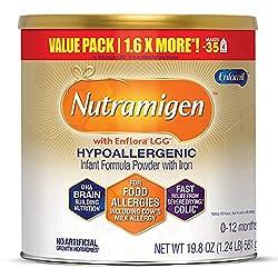 top 10 non dairy formula Enfamil's Neutramigen Hypoallergenic Infant Formula Milk – Lactose-Free Milk, 19.8 oz – Omega…