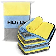 HOTOR Large & Thick Microfiber Cleaning Cloths