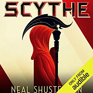 Scythe                   By:                                                                                                                                 Neal Shusterman                               Narrated by:                                                                                                                                 Greg Tremblay                      Length: 10 hrs and 32 mins     8,279 ratings     Overall 4.7