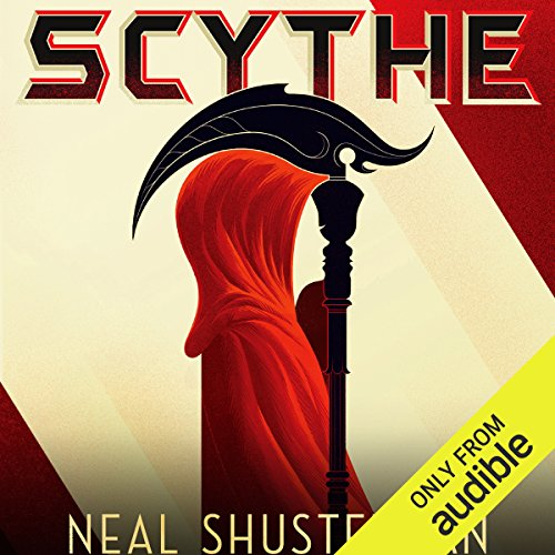 Scythe                   By:                                                                                                                                 Neal Shusterman                               Narrated by:                                                                                                                                 Greg Tremblay                      Length: 10 hrs and 32 mins     372 ratings     Overall 4.6