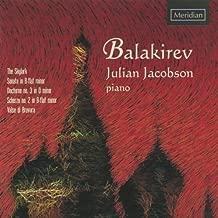 Balakirev: Piano Music by Julian Jacobson (2006-11-14)