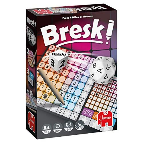 Jumbo Spiele - Bresk! - Gesellschaftsspiel, Familienspiel - Ab 8 Jahren, Multicolor