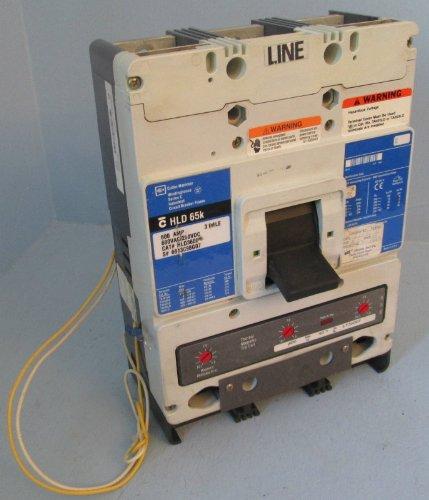 Cutler-Hammer HLD3600F 600 Amp Breaker 600A LT3600T w Shunt Westinghouse HLD3600