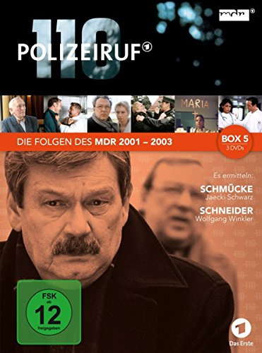 Polizeiruf 110 - MDR-Box 5 [3 DVDs]