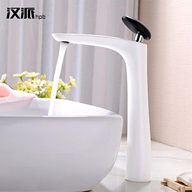 MEIBATH Waschtischarmatur Badezimmer Waschbecken Wasserhahn Küchenarmaturen Messing wei heies und Kaltes Wasser Küchen Wasserhahn Badarmatur