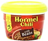 Hormel Chili Hormel Microwaveable Cup Chili With Beans, 7.38 Oz (Pack Of 12), 45706