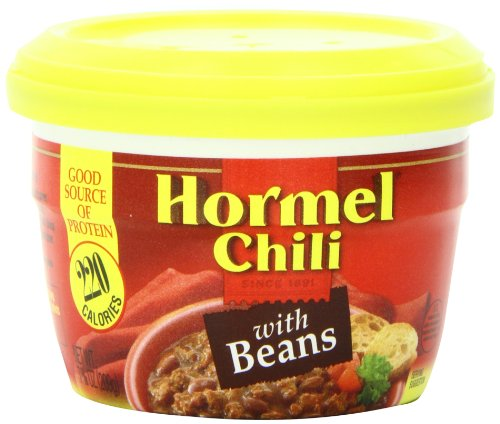 Hormel Chili Hormel Microwaveable Cup Chili With Beans,...