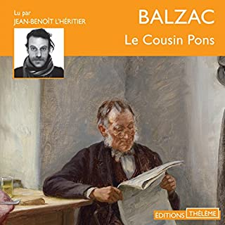 Le cousin Pons audiobook cover art