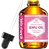 Emu Oil by Leven Rose, 100% Pure Natural Hair Strengthener Scar Minimizer...