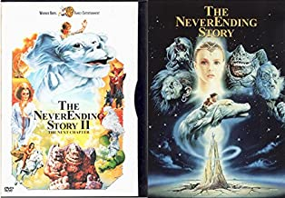 The NeverEnding Story & The Never Ending Story Part II The Next Chapter Fantasy Double Feature Bastians Challenge
