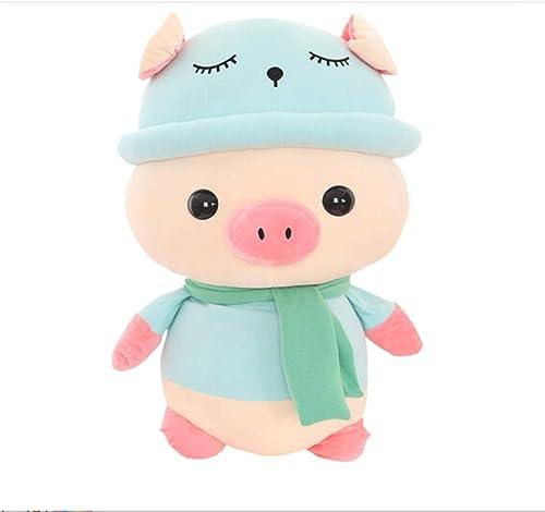 moda clasica Hengtongtongxun Peluches, Peluches, Peluches, lindos cerdos de peluche de juguete, muñecos para dormir, regaños de cumpleaños   regaños para festivales, mascotas del año del cerdo, regaños anuales, múltiples Colors y ta  encuentra tu favorito aquí