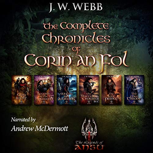 Couverture de The Complete Chronicles of Corin An Fol