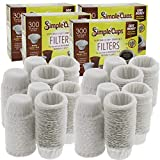 Disposable Filters Compatible with Keurig Brewers- 1200 Replacement Single Serve Paper Filters Compatible with Regular and Reusable K Cups- Use Your Own Coffee