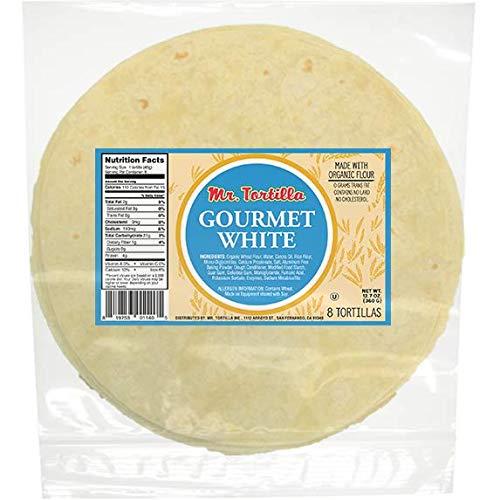 Gourmet White Tortilla by Mr. Tortilla (4) 8-Count Packs