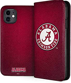 Skinit Folio Phone Case for iPhone 11 - Officially Licensed College University of Alabama Seal Design