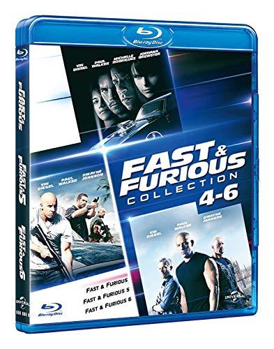 Fast & Furious 4-6: Family Coll. (Box 3 Br) (Ff4+Ff5+Ff6)