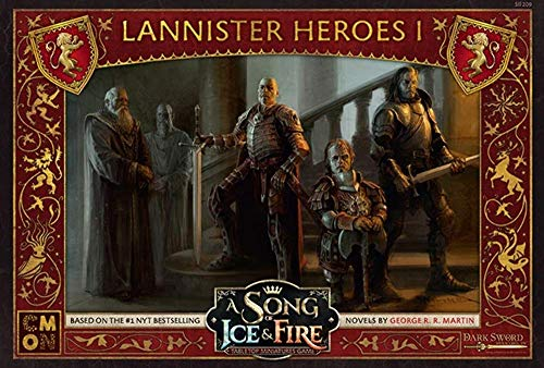 A Song of Ice and Fire Exp Asmodee CMNSIF206 Arbal/ète Lannister Multicolore Version Anglaise