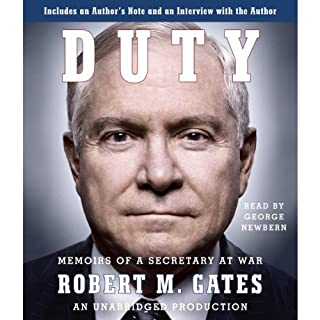 Duty audiobook cover art
