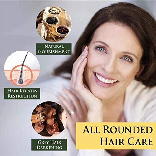 2PCS Hair Darkening Shampoo,Reverse Grey Hair Color Shampoo to prevent white hair,Natural Hair Color Shampoo,Help Boost Hair Growth (200ML)