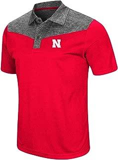 Mens Nebraska Cornhuskers Polo Shirt