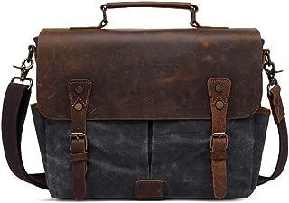 Oil Wax Canvas Bag Men's Retro Leather Men's Bag SLR Camera Bag Men's Shoulder Bag
