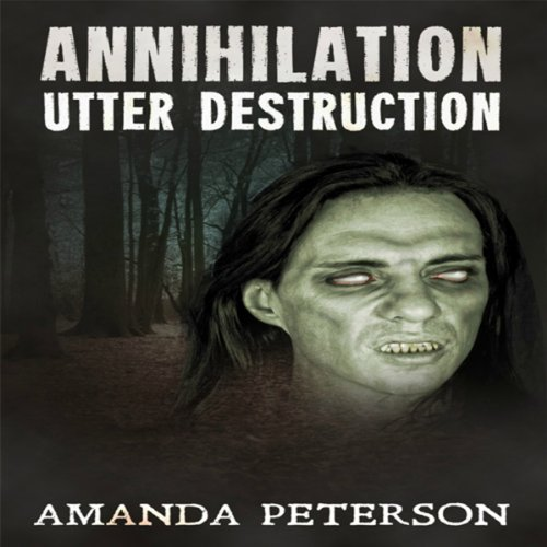 Utter Destruction audiobook cover art