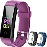 Fitness Tracker Hr, kids Activity Tracker Watch Android With Heart Rate Monitor, Waterproof Fit...
